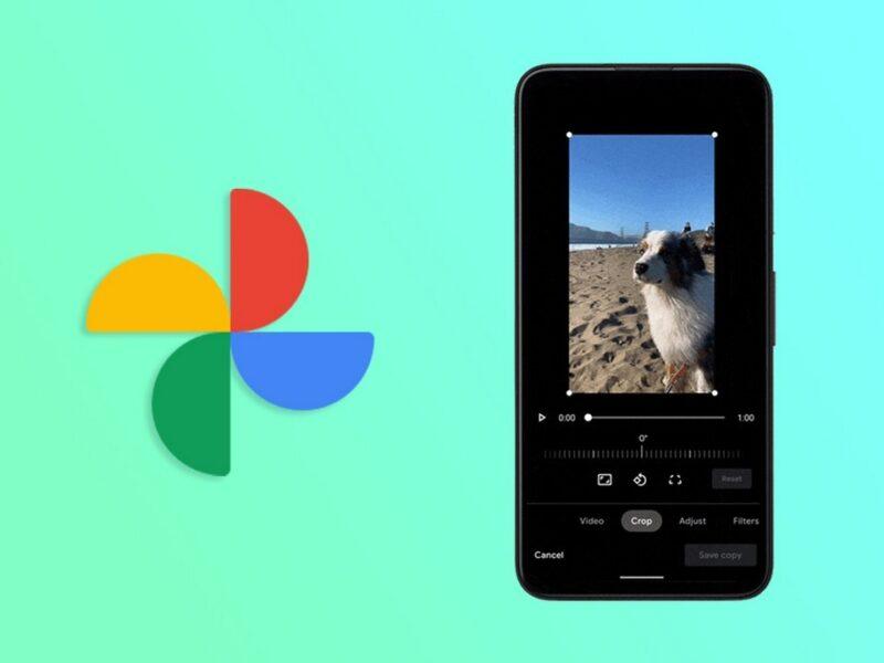 Google Photos chỉnh sửa video