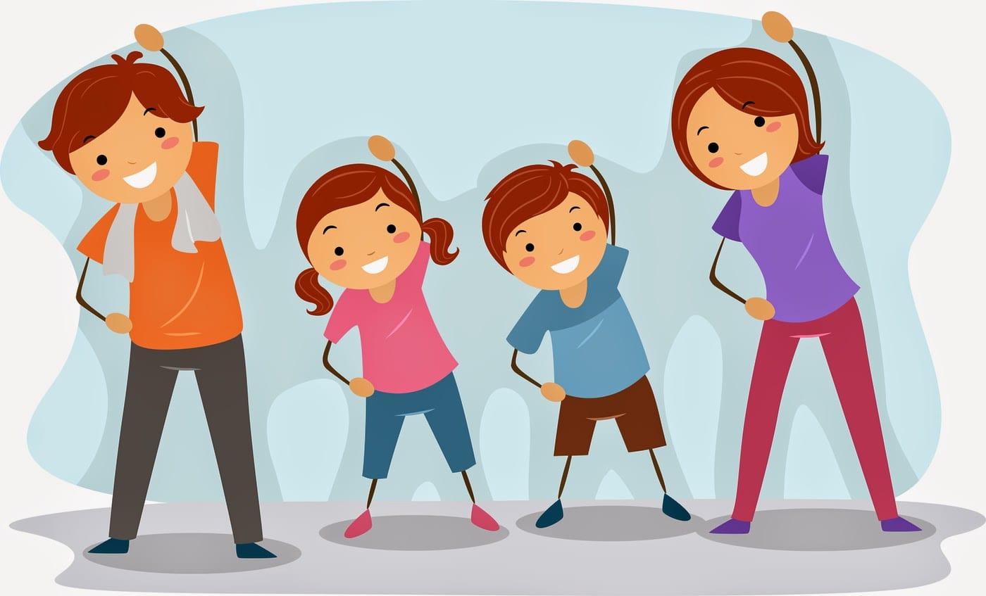 Trò chơi tập thể dục cho người lớn và trẻ em hấp dẫn